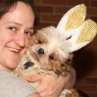 Karen & Hera – The Easter Bunny Shih Tzu!