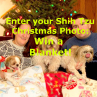 Enter our Christmas Contest and Win a Personalized Blanket